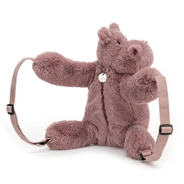 Jellycat Huggaday Hippo Backpack