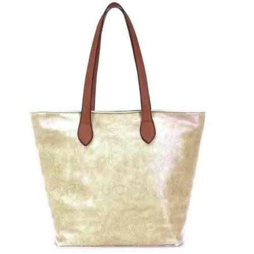 Shoulder Bag. Gold