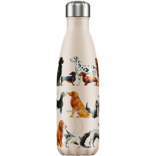 Chilly Bottle 500ml by Emma Bridgewater. Dogs