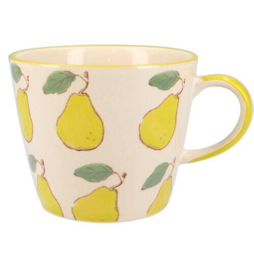 mug with pear print