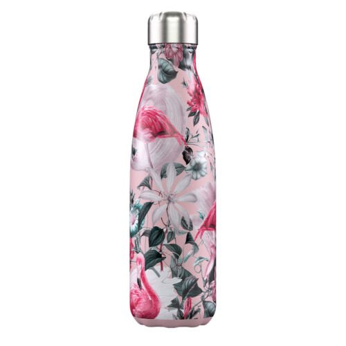 Chilly Bottle 500ml. Tropical Flamingo