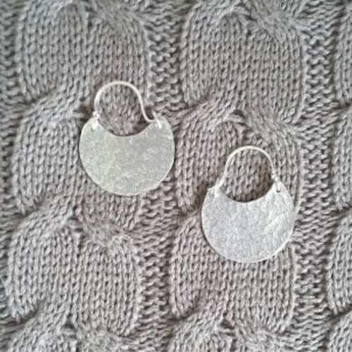 Nikki Stringer Handmade silver Earrings