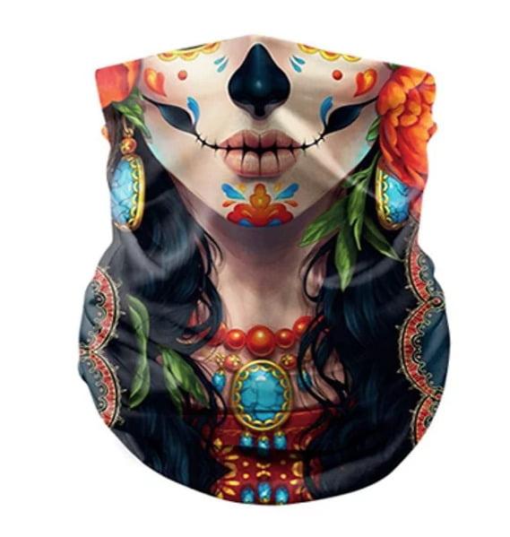 Bandanna style face mask