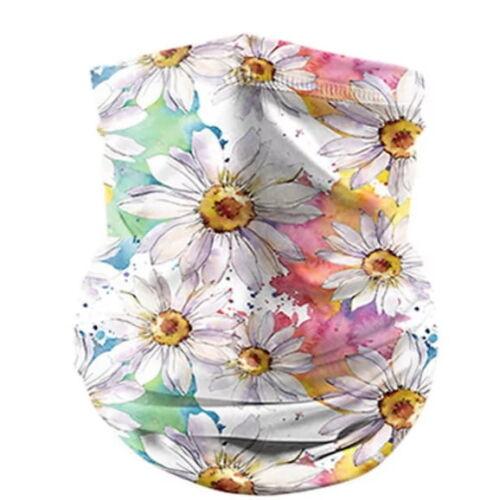 bandanna face msk flower design