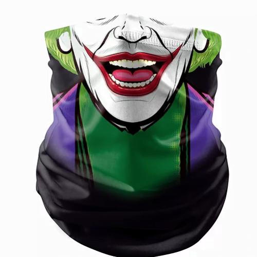 The joker face covering