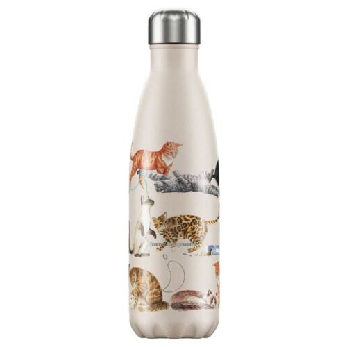 Chilly Bottle 500ml by Emma Bridgewater. Cats