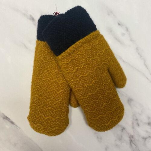 Mustard Mitten Gloves