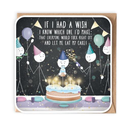 Birthday Card . If I had a wish