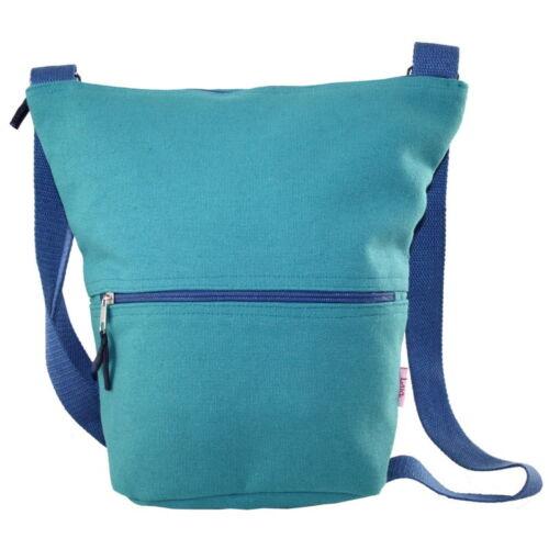 Lua Marine Green Canvas Bag