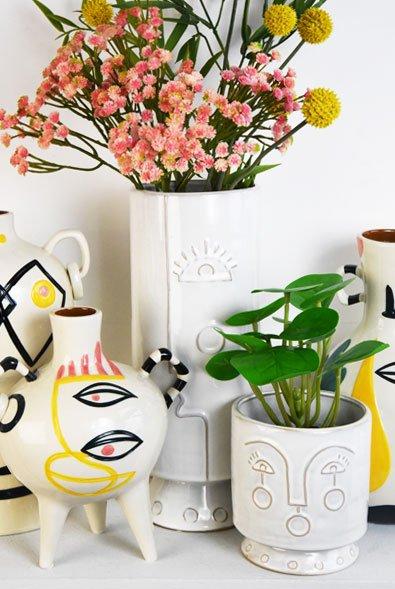 modernist vases