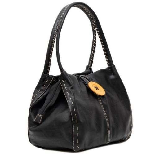 Shoulder Bag. Black