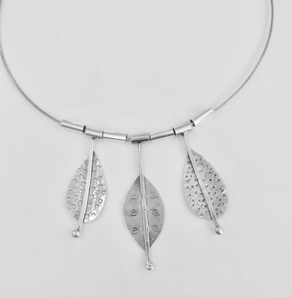 Nikki Stringer handmade silver necklace