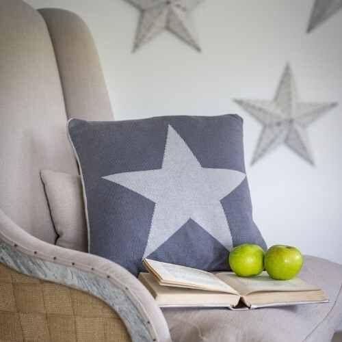Reversible Star Cushion