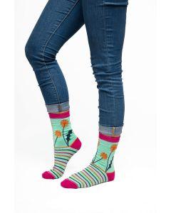 Ladies Soft Bamboo socks. Dandelions
