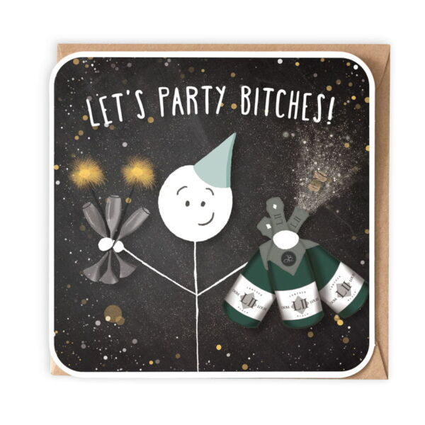 Birthday Card . Lets party