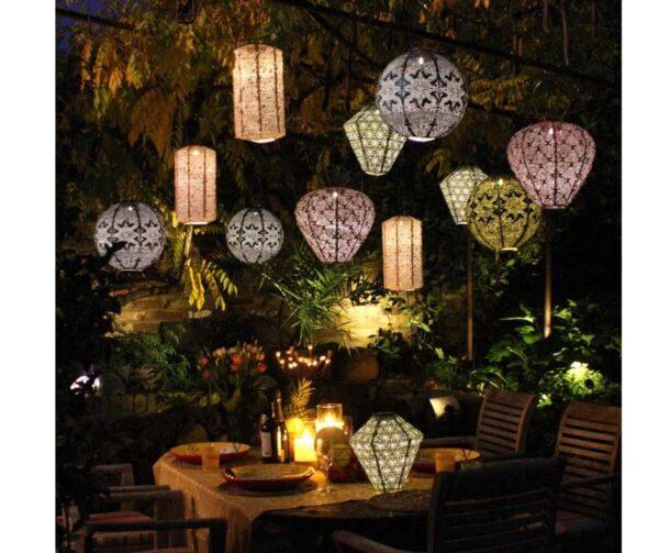 solar lantens for summer