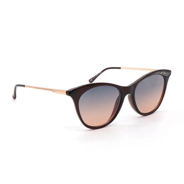 Black cats eye style sunglasses