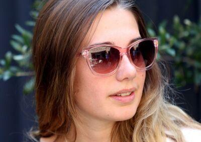 Blush Pink Sunglasses