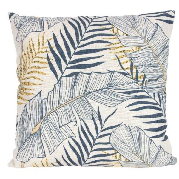 Gisela Graham Leaf design Cushion Grey
