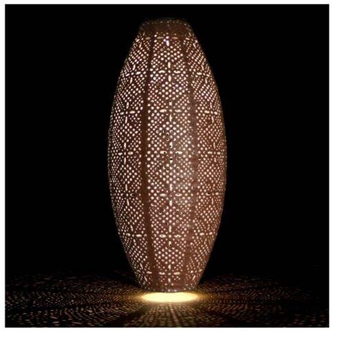 Solar Oval Lantern Outdoor Use