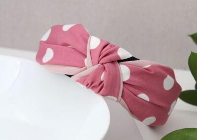 Pink Spot Headband