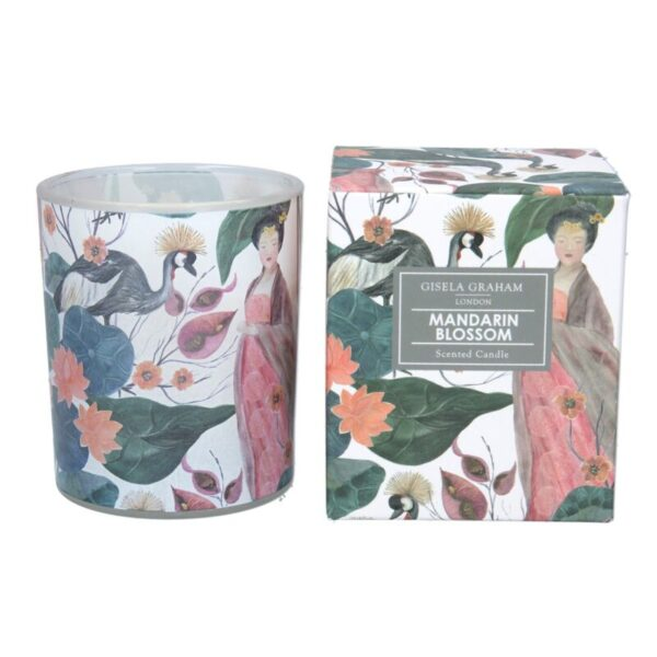 Boxed Scented Candle Mandarin Blossom