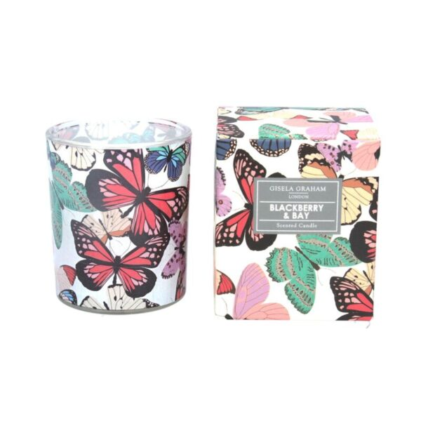 Boxed Scented Candle Blackberry and Bay