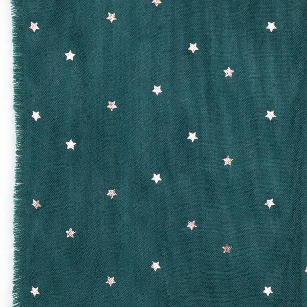 star embellished scard