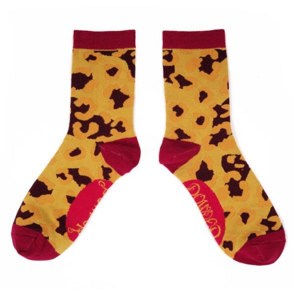 Powder Design Leopard Bamboo Socks