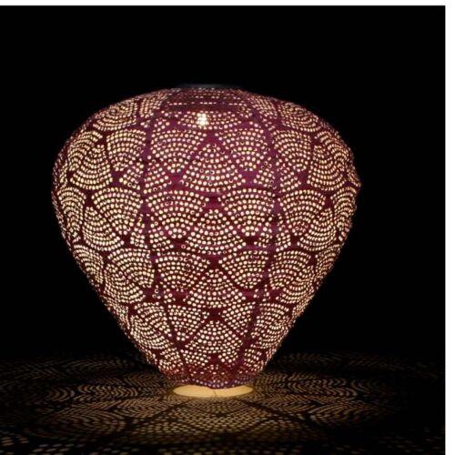 Solar Ballon Lantern Maroon Colour