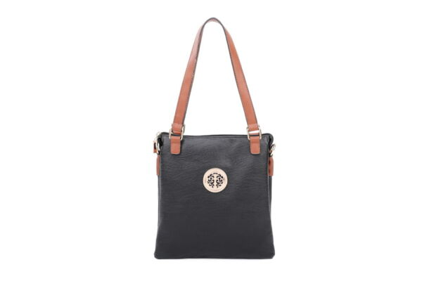 Strappy Shoulder Bag with added Long Cross Body Strap