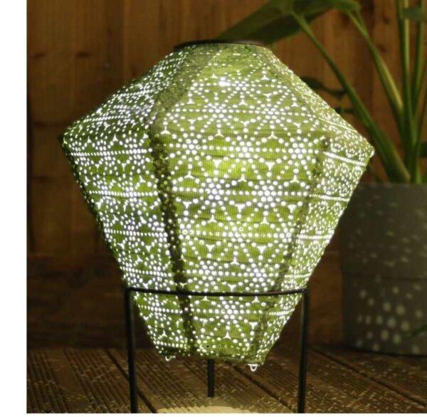 Solar Diamond Lantern Outdoor Use