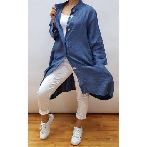 Jacket Duster linen