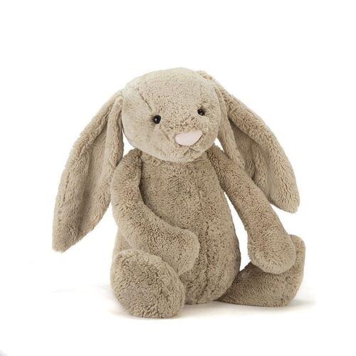 Jellycat Bashful Bunny, Beige. Huge