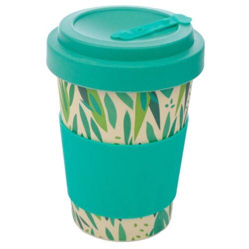 Reusable Screw Bamboo Travel Cup. Willow
