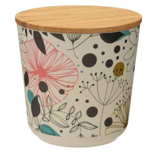 Bamboo Small Storage Jar. Wisewood Botanics