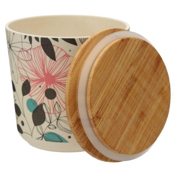 Bamboo Storage Jar. Small. Wisewood Botanics