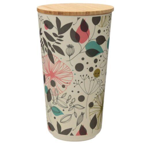 Bamboo Large Storage jar. Wisewood Botanics