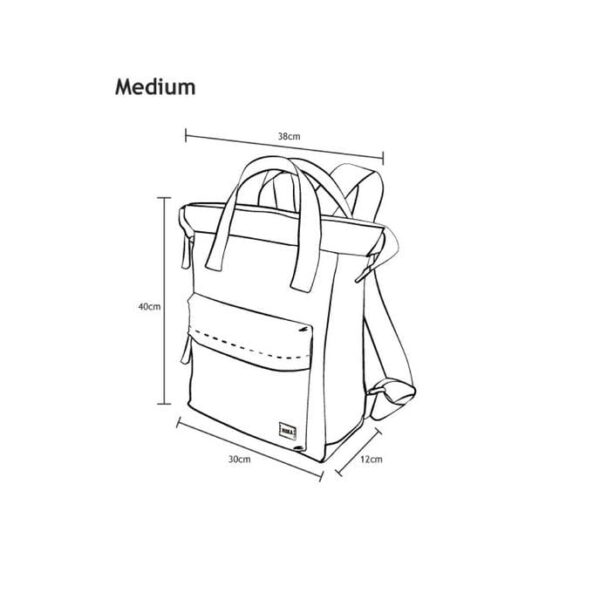 size of Roka Bantry Bag Medium