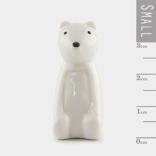 Porcelain bear small
