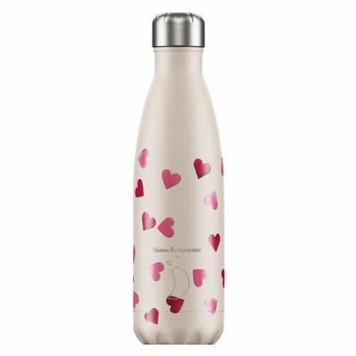 Chilly Bottle 500ml Emma Bridgewater Hearts