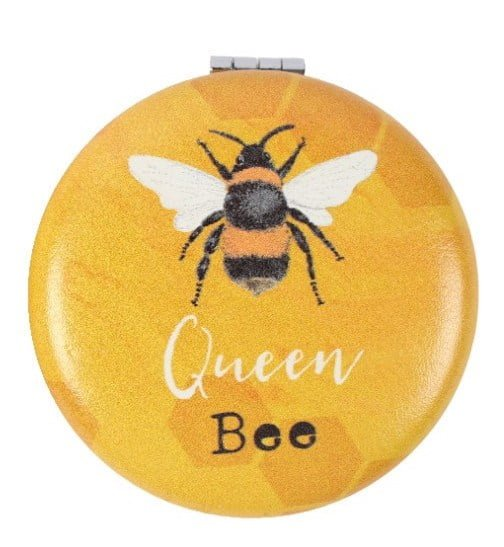 compact mirror queen bee