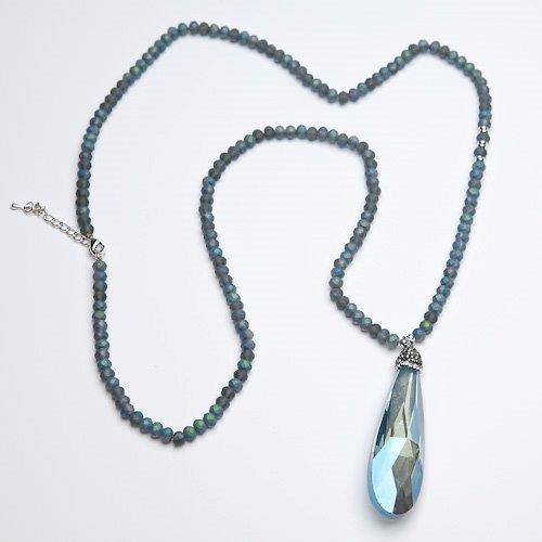 ladies necklace beaded pendant