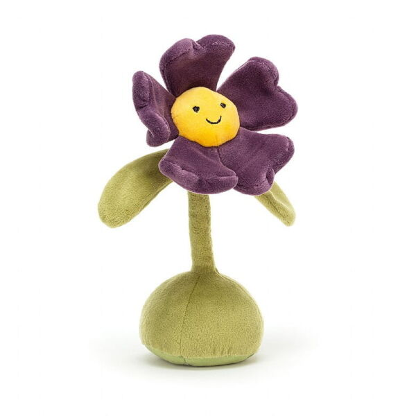 Jellycat collectable flowerlette pansy