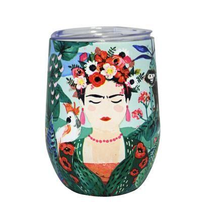 Frida Kahlo eco cup