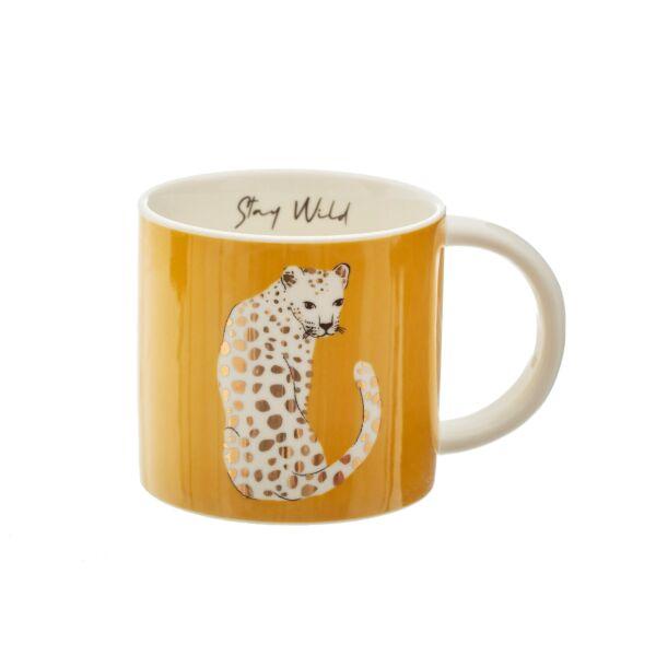 Leopard mug