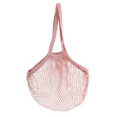 Pink String Shopping Bag