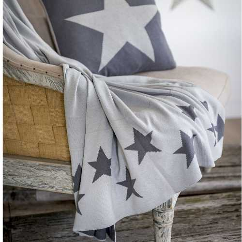Retreat Double sided star throw