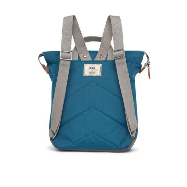recycled Roka Backpack in Marine colour