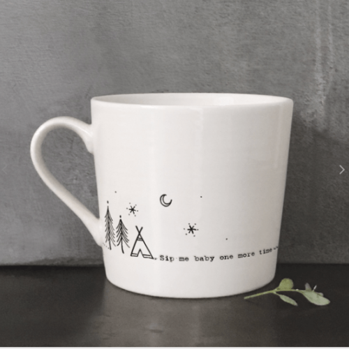 East Of India Sip Me Baby One More Time Mug
